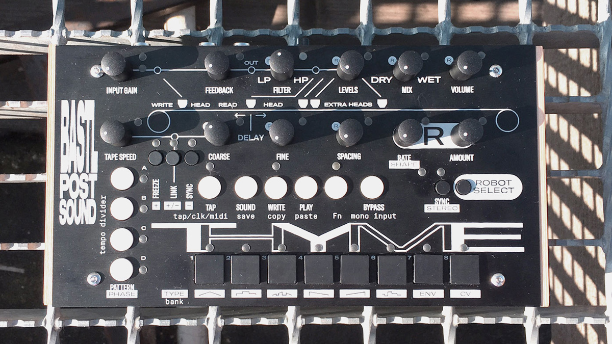 It's Thyme for a new effects processor from Bastl Instruments
