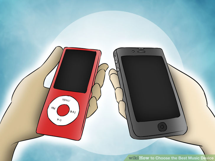 Choose the Best Music Device Step 3