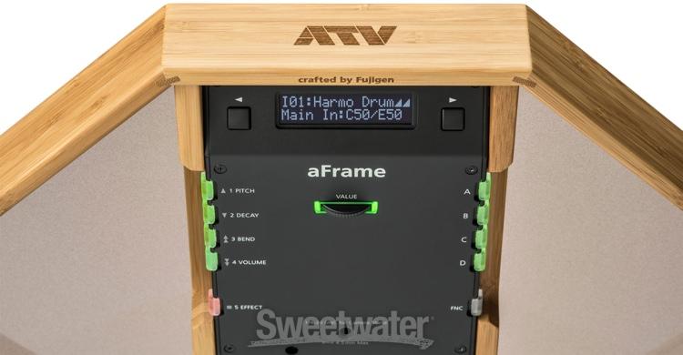 ATV aFrame Electroorganic Frame Drum Demo