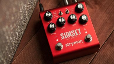 "Strymon's Sunset Dual Overdrive pedal gives you ""the best of the best classic overdrive circuits"""
