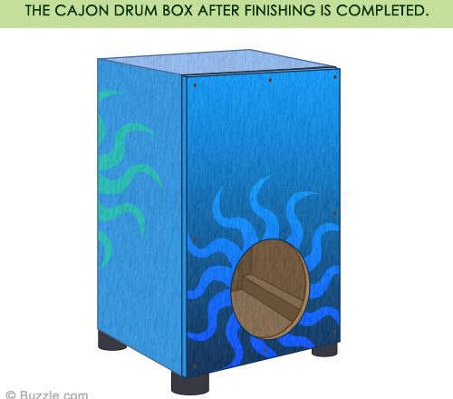 how to build a cajon drum